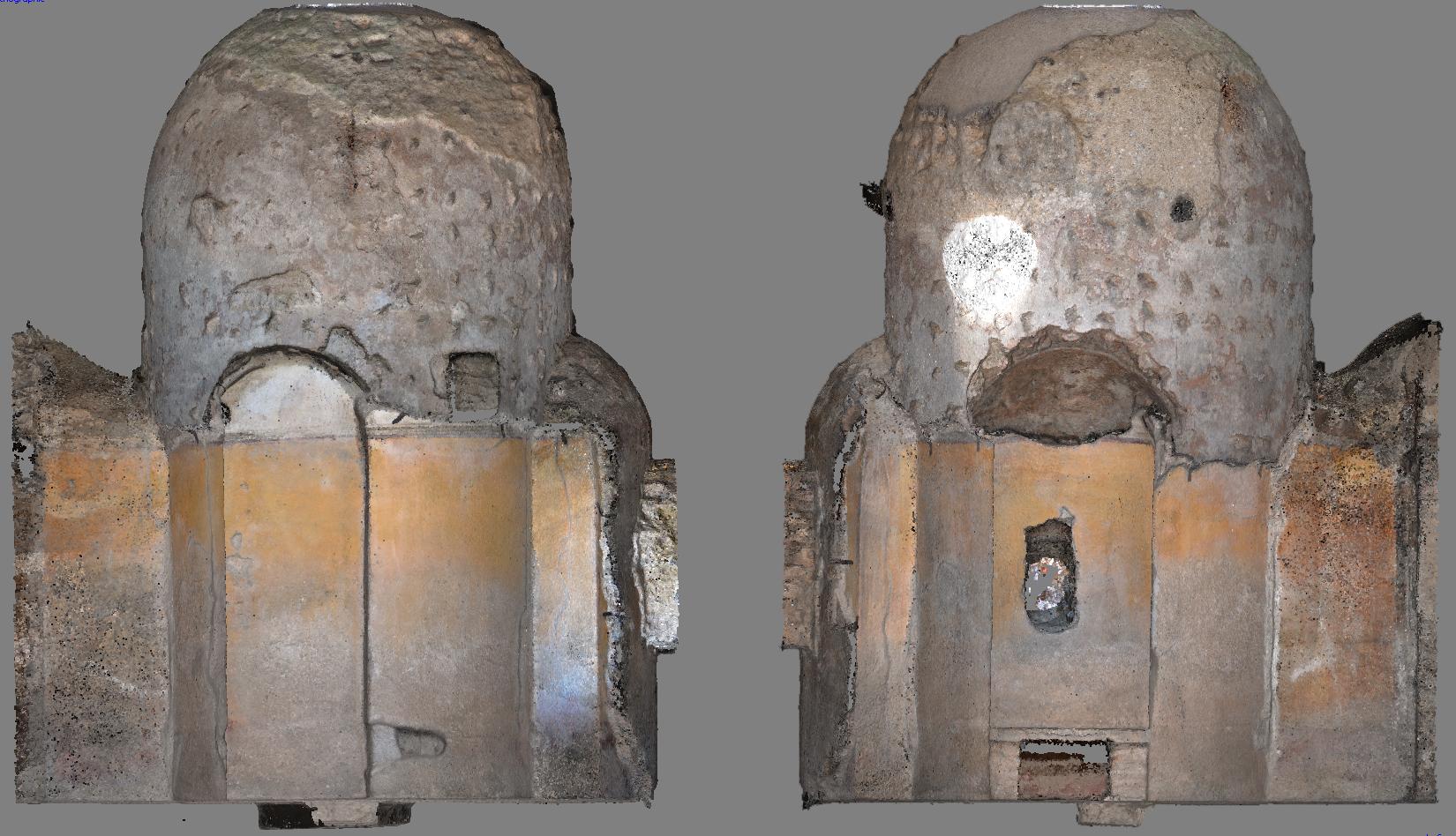 Modello digitale del laconicum