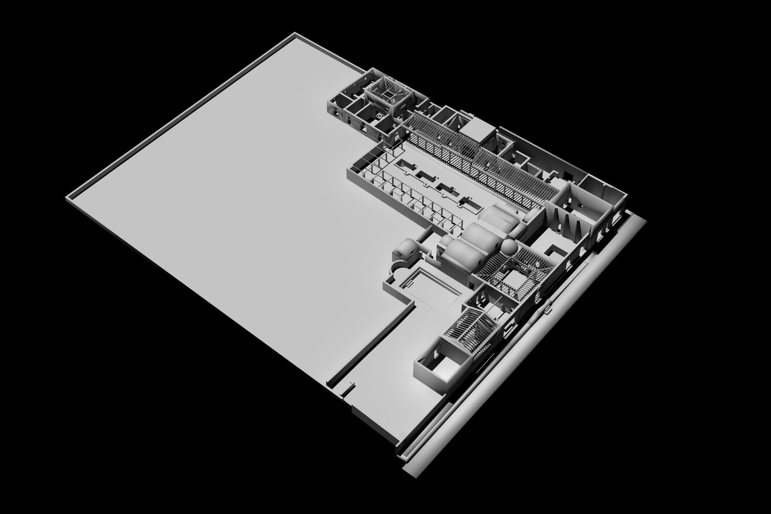 Modello 3D Praedia