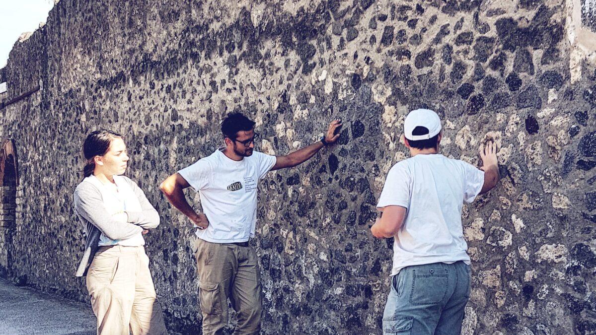 Studio e analisi delle murature dei Praedia