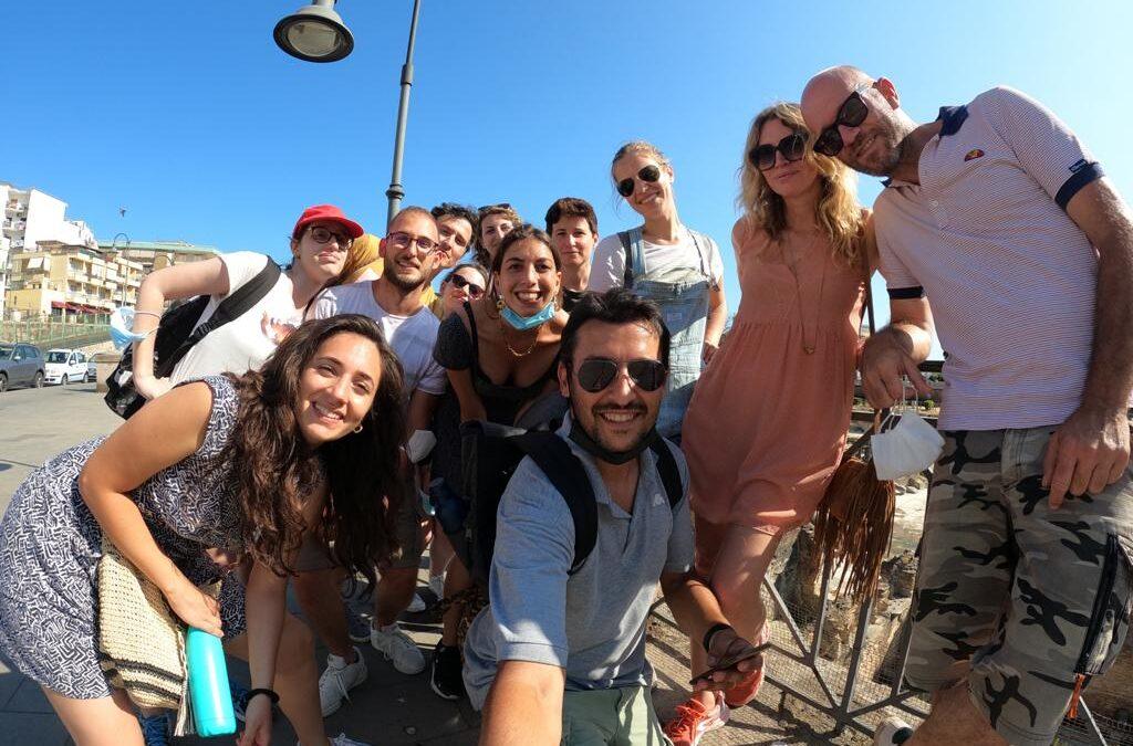 Il team PRAEDIA 2021 in visita a Pozzuoli